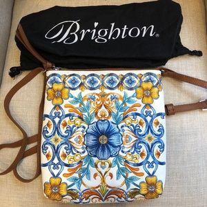 NEW Brighton Fiorella Embriodered Pouch crossbody